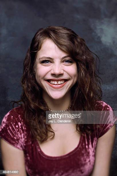 Olivia Luccardi is photographed for Los Angeles Times at the 2015 Sundance Film Festival on January 24 2015 in Park City Utah PUBLISHED IMAGE CREDIT...