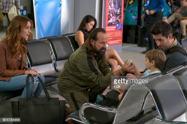 Olivia Macklin Peter Stormare guest star Boone Nelson and Ed Weeks in the The Fellowship Of The Bear episode of LA TO VEGAS airing Tuesday Feb 6 on...