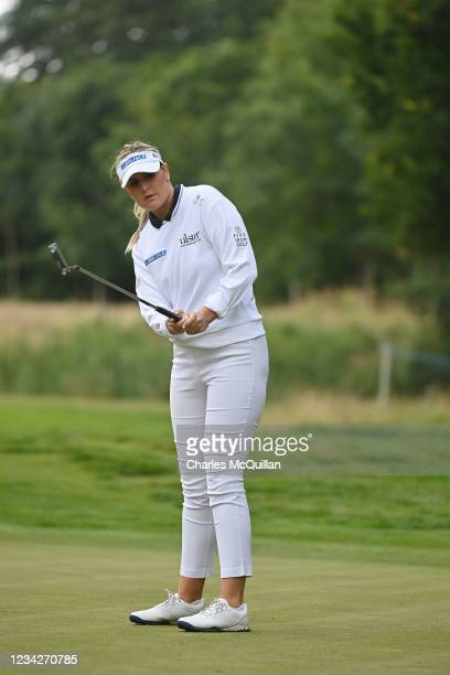 Olivia Mehaffey during the Pro Am event at The ISPS HANDA World Invitational at on July 28, 2021 in Ballymena, United Kingdom.