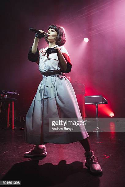 Olivia Merilahti of The DO performs on stage at Electric Brixton on December 16, 2015 in London, England.