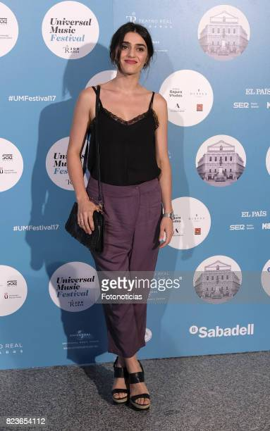 Olivia Molina attends the James Rhodes Universal Music Festival concert at The Royal Theater on July 27 2017 in Madrid Spain