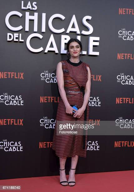 Olivia Molina attends the 'Las Chicas del Cable' Netflix Tv Series premiere at Callao Cinema on April 27 2017 in Madrid Spain