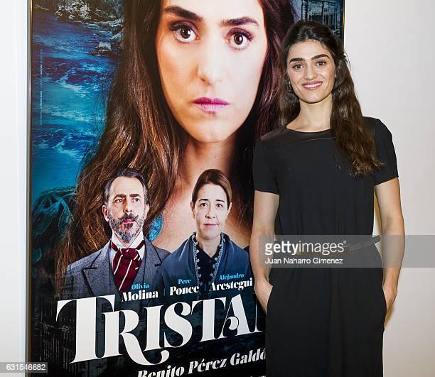 Olivia Molina attends 'Tristana' photocall at Teatro Fernan Gomez on January 12 2017 in Madrid Spain