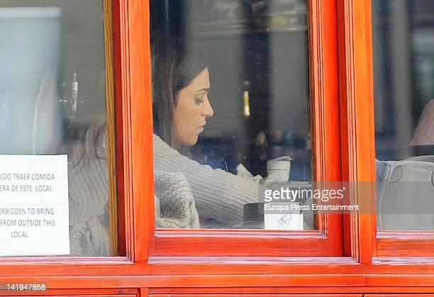 Olivia Molina is seen on February 24 2012 in Madrid Spain