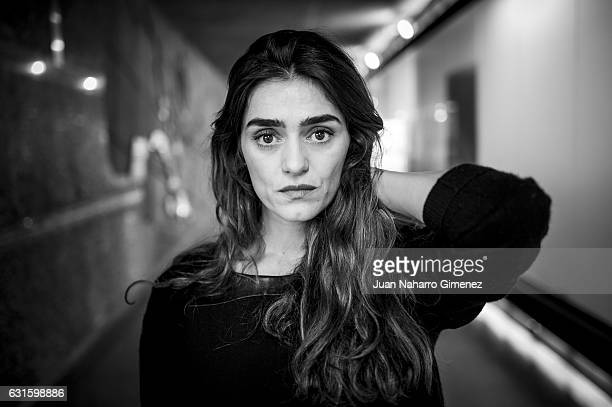 Olivia Molina poses for a portrait session during 'Tristana' presentation at Fernan Gomez Theater on January 13 2017 in Madrid Spain