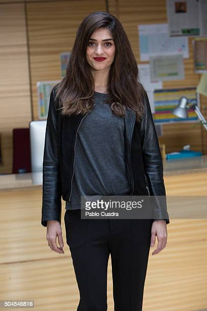 Olivia Molina presents 'Bajo Sospecha' second season on January 11 2016 in Madrid Spain