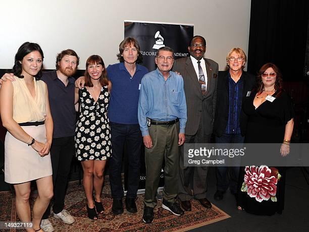 Olivia Mori Drew DeNicola Danielle McCarthy Jody Stephens John Fry Al Bell Jon Hornyak and Susan Marshall attends Big Star Documentary Film Screening...