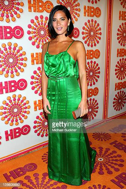 Olivia Munn arrives at HBO's Annual Emmy Awards Post Award Reception Arrivals on September 18 2011 in Los Angeles California