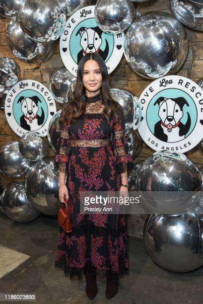 Olivia Munn attends Love Leo Rescue's 2nd Annual Cocktails for a Cause at Rolling Greens Los Angeles on November 06, 2019 in Los Angeles, California.