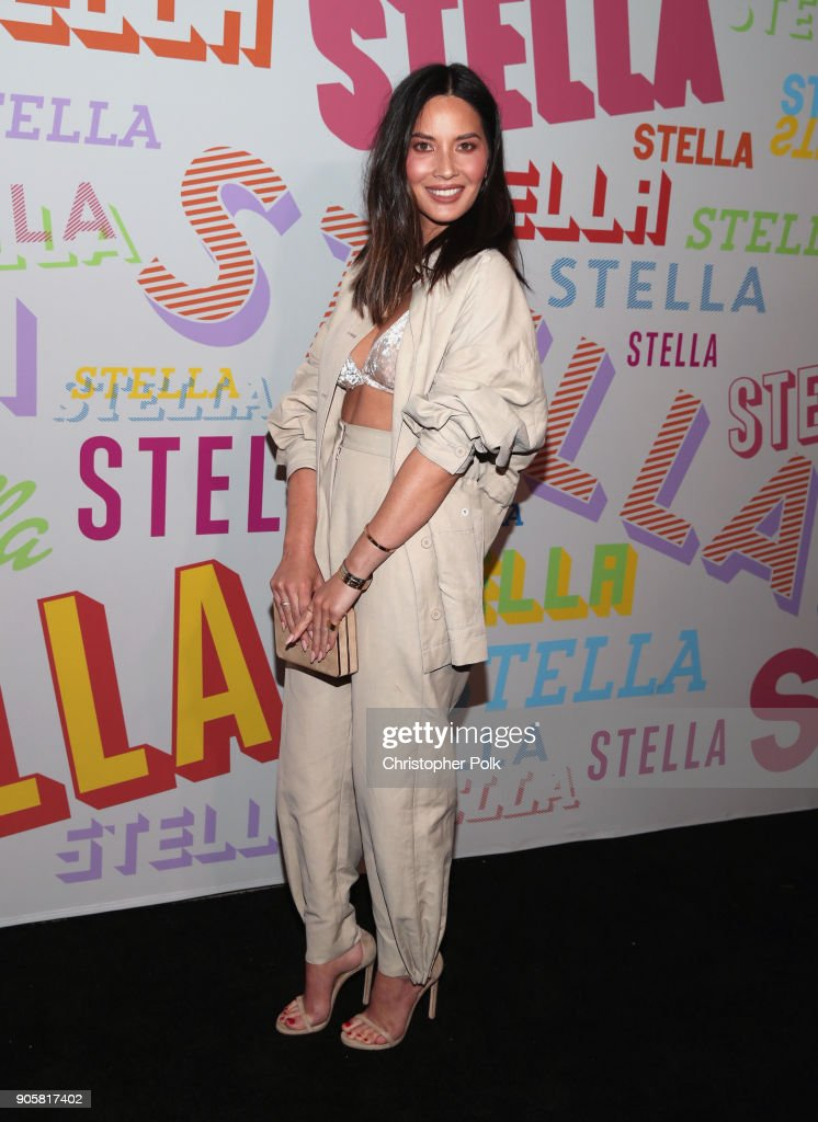 Olivia Munn attends Stella McCartney's Autumn 2018 Collection Launch on January 16, 2018 in Los Angeles, California.