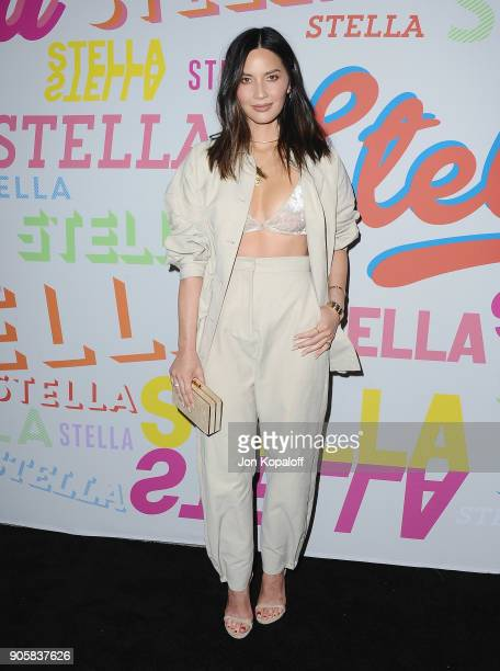 Olivia Munn attends Stella McCartney's Autumn 2018 Collection Launch on January 16 2018 in Los Angeles California