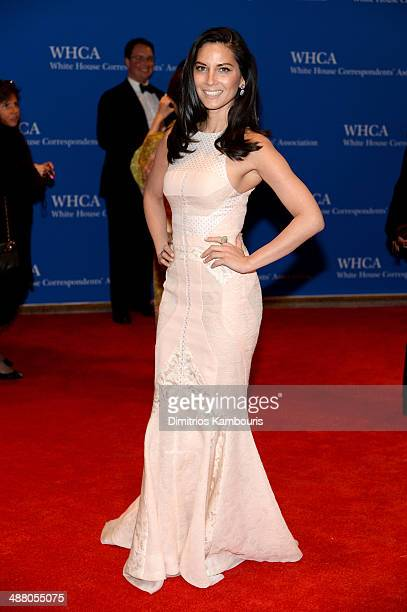 Olivia Munn attends the 100th Annual White House Correspondents' Association Dinner at the Washington Hilton on May 3 2014 in Washington DC