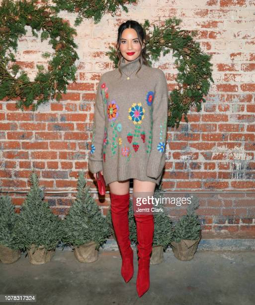 Olivia Munn attends the 1st Annual Cocktails For A Cause With Love Leo Rescue at Rolling Greens Los Angeles on December 06 2018 in Los Angeles...