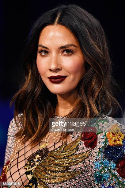 Olivia Munn attends the 2017 MTV Video Music Awards at The Forum on August 27 2017 in Inglewood California