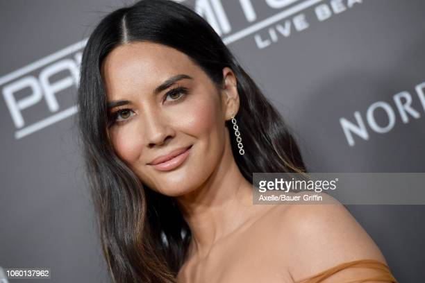 Olivia Munn attends the 2018 Baby2Baby Gala Presented by Paul Mitchell at 3LABS on November 10, 2018 in Culver City, California.