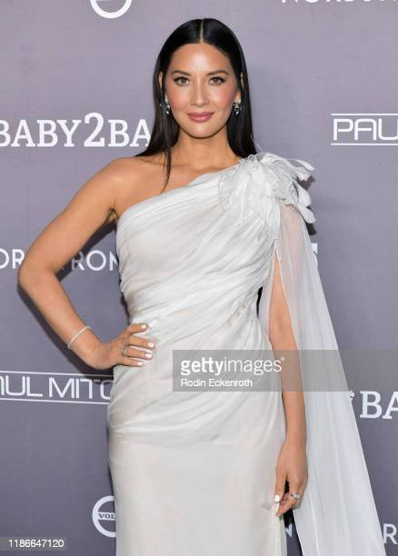 Olivia Munn attends the 2019 Baby2Baby Gala Presented by Paul Mitchell at 3LABS on November 09, 2019 in Culver City, California.