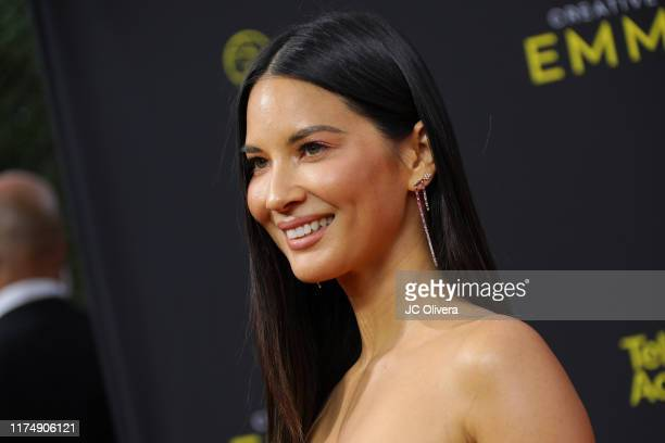 Olivia Munn attends the 2019 Creative Arts Emmy Awards on September 15, 2019 in Los Angeles, California.