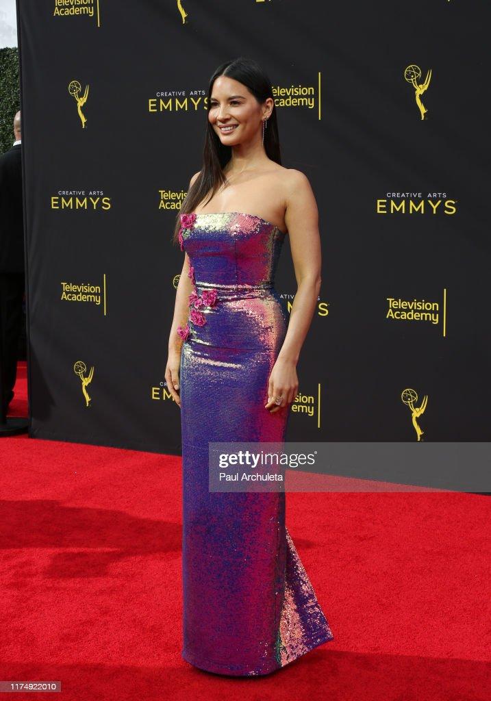 2019 Creative Arts Emmy Awards - Arrivals : News Photo