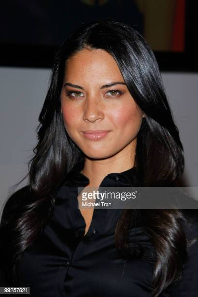 Olivia Munn attends 'The Cable Show' 2010 day 3 held at Los Angeles Convention Center on May 13 2010 in Los Angeles California