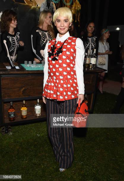 Olivia Munn attends the Casamigos Halloween Party on October 26 2018 in Beverly Hills California