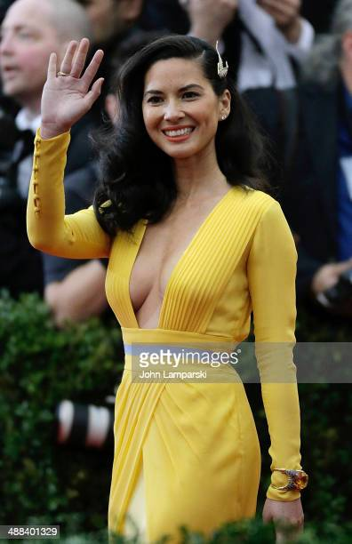 Olivia Munn attends the 'Charles James Beyond Fashion' Costume Institute Gala at the Metropolitan Museum of Art on May 5 2014 in New York City