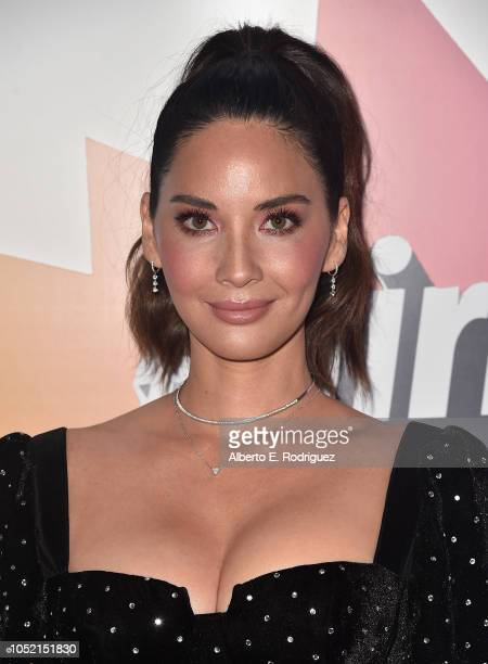 Olivia Munn attends the #girlhero Award Luncheon at SLS Hotel on October 14 2018 in Beverly Hills California
