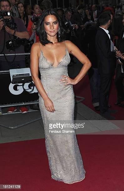 Olivia Munn attends the GQ Men of the Year Awards 2012 at The Royal Opera House on September 4 2012 in London England