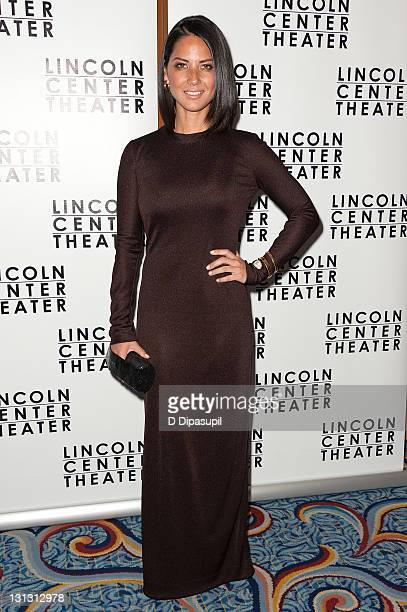 Olivia Munn attends the 'Other Desert Cities' opening night after party at Marriott Marquis on November 3 2011 in New York City