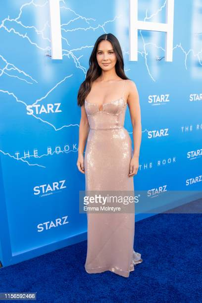 """Olivia Munn attends the LA premiere of Starz' """"The Rook"""" at The Getty Museum on June 17, 2019 in Los Angeles, California."""
