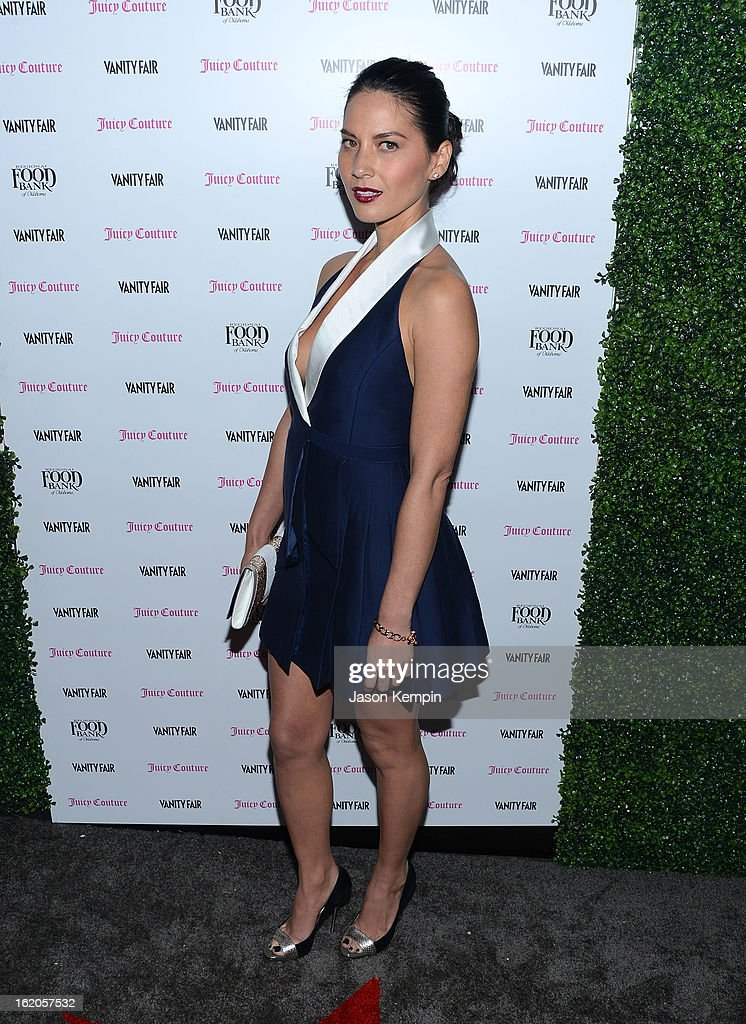 Olivia Munn attends the Vanity Fair And Juicy Couture Celebration Of The 2013 Vanities Calendar With Olivia Munn at Chateau Marmont on February 18, 2013 in Los Angeles, California.