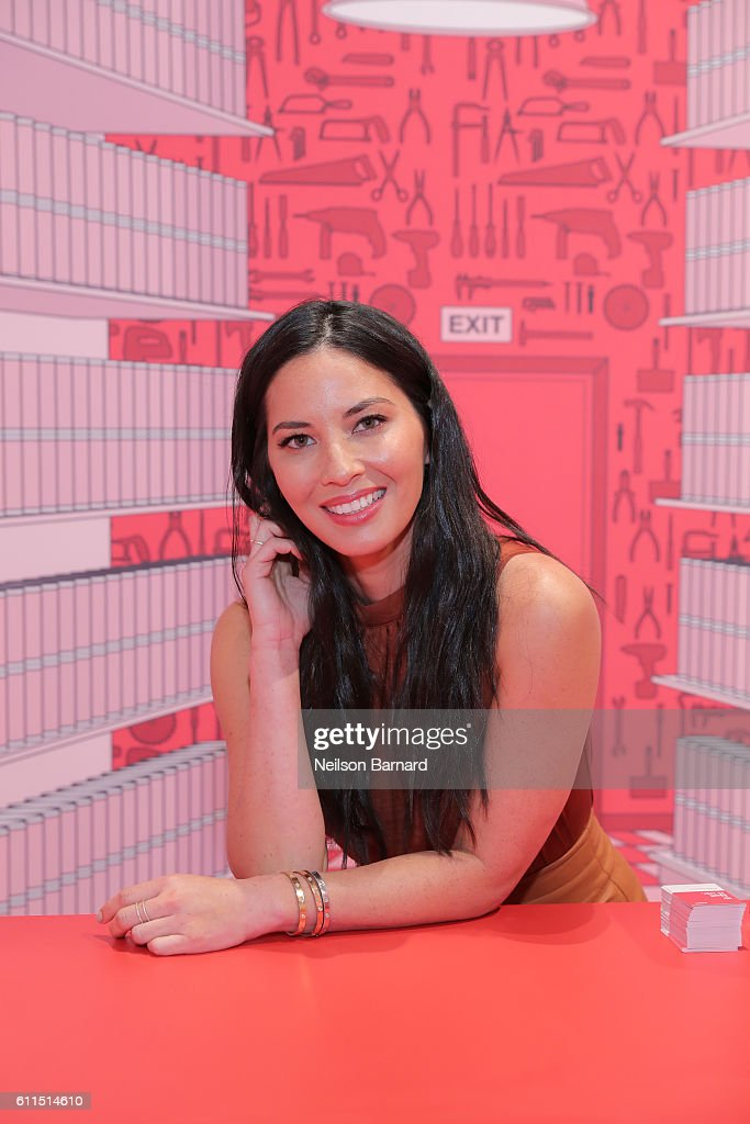 """Olivia Munn Celebrates Opening Of Target Tribeca At """"Nail It Up!"""" Pop-Up In New York City"""