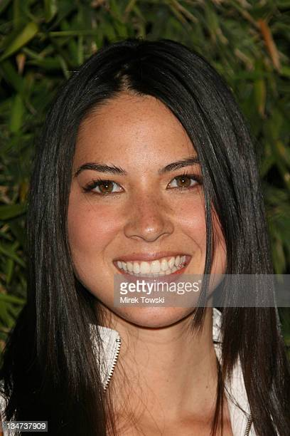 Olivia Munn during Replay Brand party to celebrate Brandon Davis' Jean collection at Falcon in Hollywood CA United States