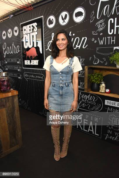 Olivia Munn hosts the Chef's Cut Real Jerky event for National Jerky Day on June 12 2017 in Los Angeles California