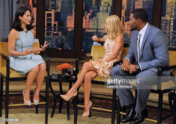 MICHAEL 7/8/13 Olivia Munn is a guest on LIVE with Kelly and Michael distributed by DisneyWalt Disney Television via Getty Images Domestic Television...