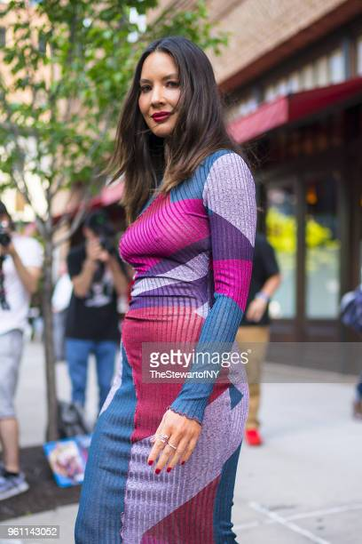 Olivia Munn is seen in Tribeca on May 21 2018 in New York City