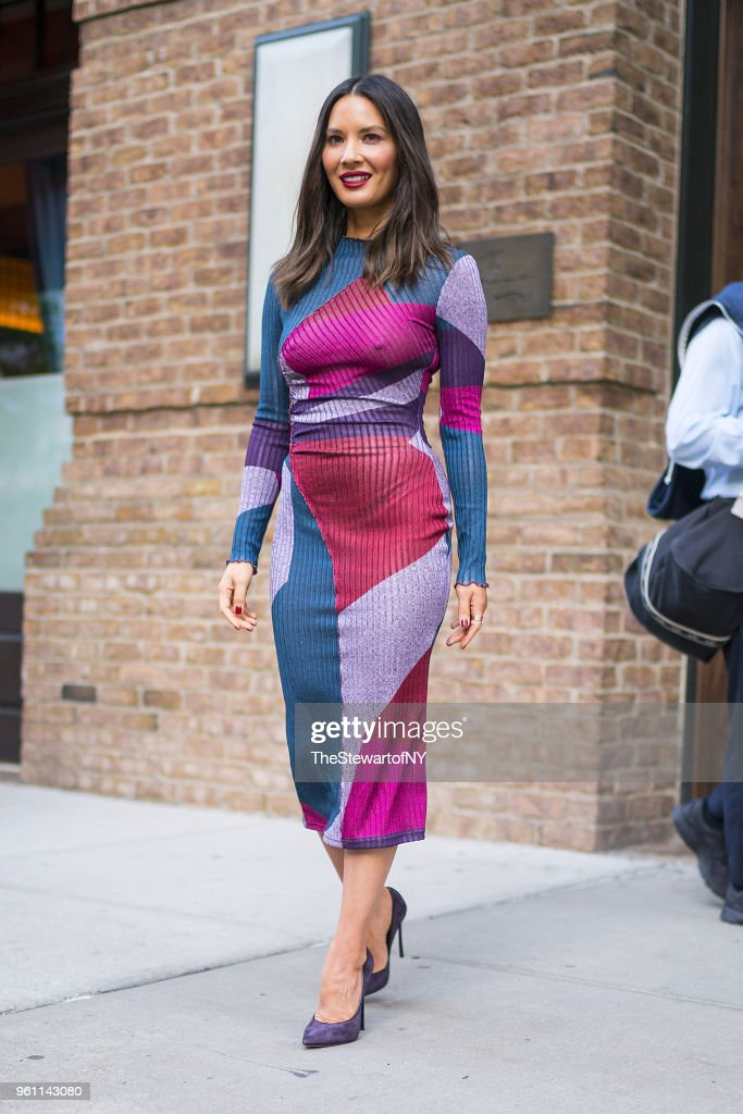 Celebrity Sightings in New York City - May 21, 2018
