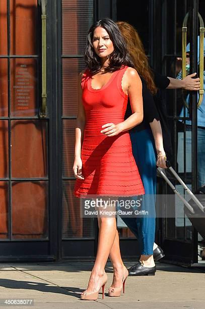 Olivia Munn is seen on June 20 2013 in New York City