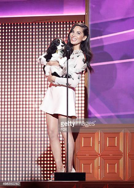 Olivia Munn onstage at the second annual THE ALL-STAR DOG RESCUE CELEBRATION, a one-of-a-kind event celebrating Americas rescue dogs, airing...