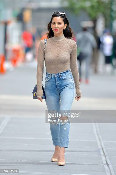 Olivia Munn seen out in Manhattan on June 16 2017 in New York City