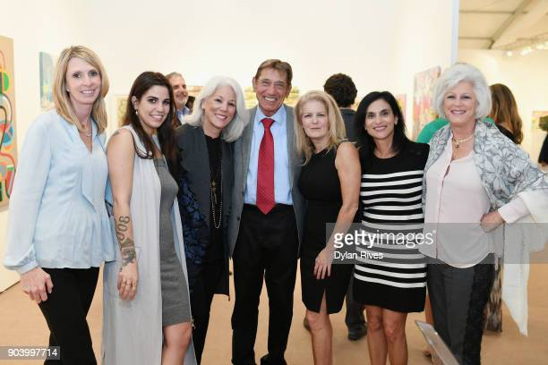 Olivia Namath and Joe Namath attend the Palm Beach Modern Contemporary VIP Opening Preview Presented By Art Miami on January 11 2018 in West Palm...