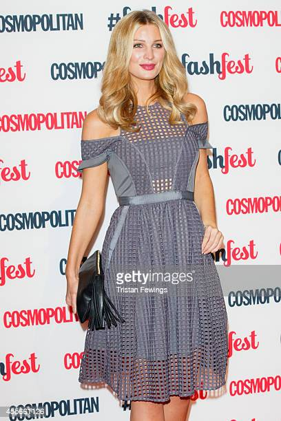 Olivia Newman Young attends the Cosmopolitan #FashFest event at Battersea Evolution on September 18 2014 in London England