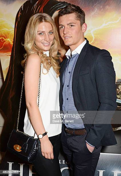 Olivia NewmanYoung and Jace Moody attend a VIP screening of The Legend Of Hercules at The Courthouse Hotel on March 25 2014 in London England