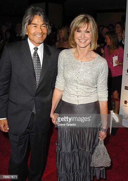 Olivia Newton John and Boyfriend Patrick McDermott at the Century Plaza Hotel in Century City California
