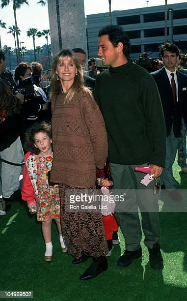 "Olivia Newton John and daughter Chloe Lattanzi and Matt Lattanzi during Metropolitan Home Show ""A Street of Shops"" Gala at 7th Regiment Armory in New..."