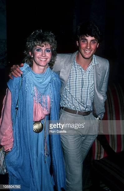 Olivia Newton John and Matt Lattanzi during Consumer Action Now May 23 1982 at Plaza Hotel in New York City New York United States