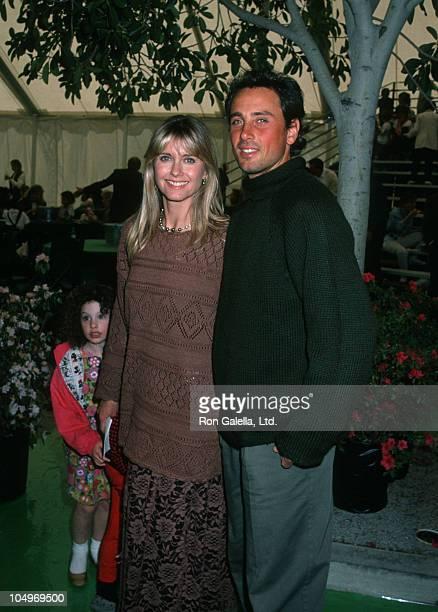 "Olivia Newton John, and Matt Lattanzi during Metropolitan Home Show ""A Street of Shops"" Gala at 7th Regiment Armory in New York City, New York,..."