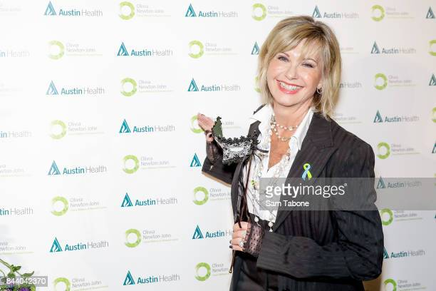 Olivia Newton John attends the Olivia NewtonJohn Gala Red Carpet at Crown Palladium on September 8 2017 in Melbourne Australia