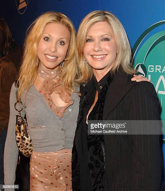 Olivia NewtonJohn and daughter Chloe Lattanzi
