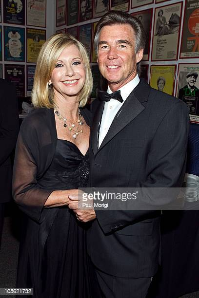 Olivia NewtonJohn and her husband John Easterling attend Honoring The Promise celebrates the 30th anniversary of the Promise at The John F Kennedy...