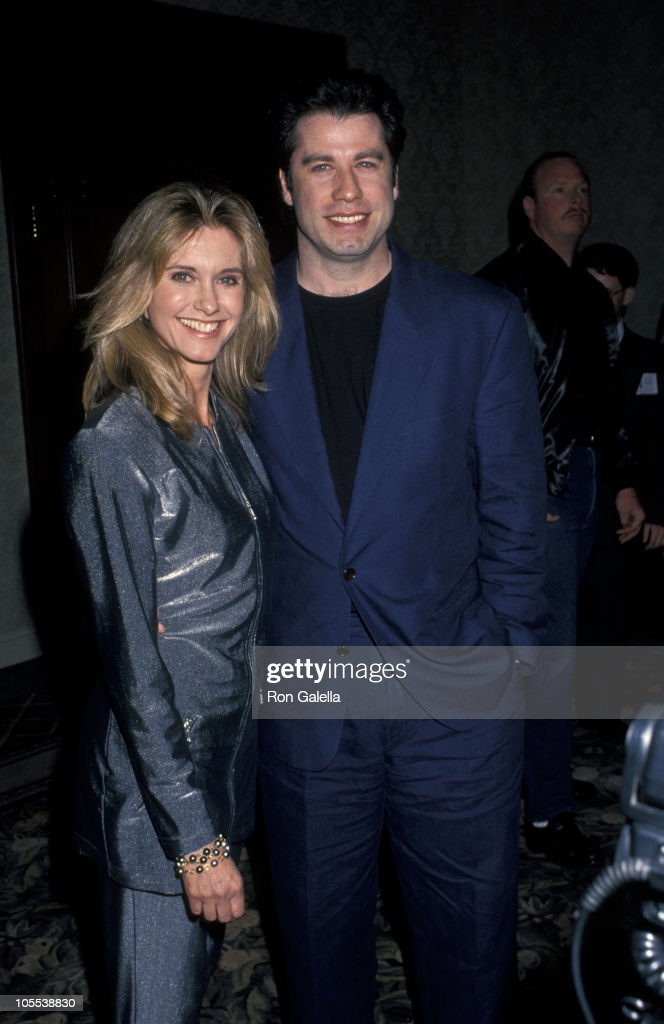 Olivia Newton-John and John Travolta during